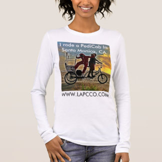 Tour PediCab Apparal The Los Angeles PediCab Co. Long Sleeve T-Shirt