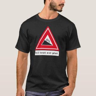 Tour the Zélande - Ici tout est plat T-Shirt