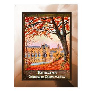 Touraine Chateau de Chemonceaux Postcard