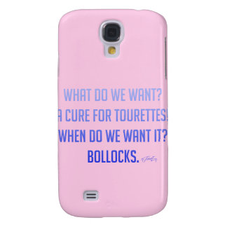 'Tourettes' Galaxy S4 Cases