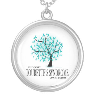 Tourette's Syndrome Tree Personalized Necklace