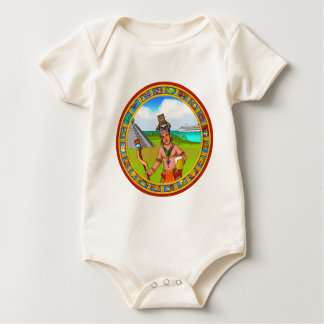 Tourism Chichen Itza Pyramid Tourguide Cold Beer Baby Bodysuit