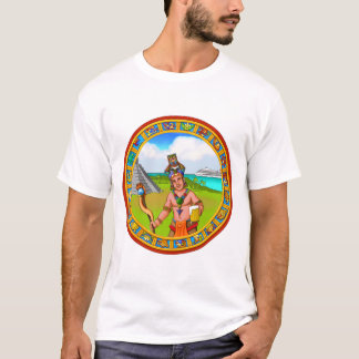 Tourism Chichen Itza Pyramid Tourguide Cold Beer T-Shirt