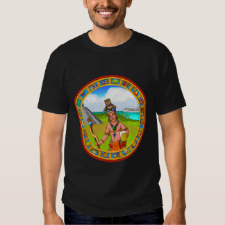 Tourism Chichen Itza Pyramid Tourguide Cold Beer Tee Shirts