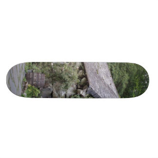 Tourist Attraction In Wales Ugly House Skate Board Decks