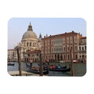 Tourist in Gondolas from San Maria Del Giglio Rectangular Photo Magnet