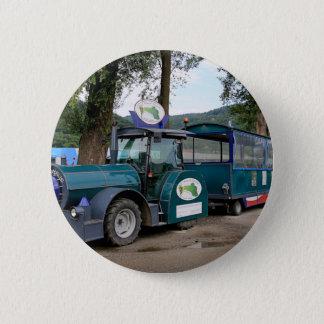 Tourist Shuttle train, Durnstein, Austria 6 Cm Round Badge