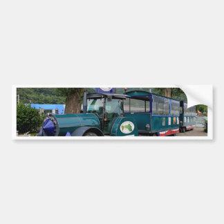 Tourist Shuttle train, Durnstein, Austria Bumper Sticker