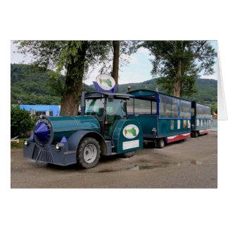 Tourist Shuttle train, Durnstein, Austria Card