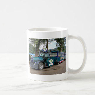 Tourist Shuttle train, Durnstein, Austria Coffee Mug