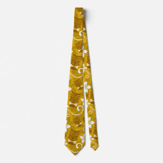 Tourist Tiki Tie in Yellow, Cool Tiki Tie