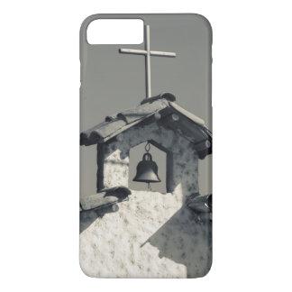 Tourist town, village chapel iPhone 7 plus case