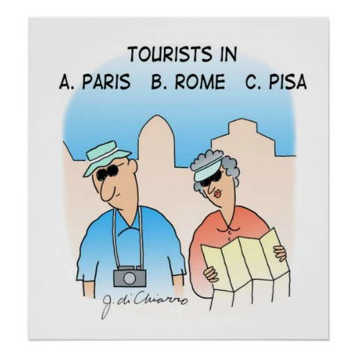 Tourists Poster