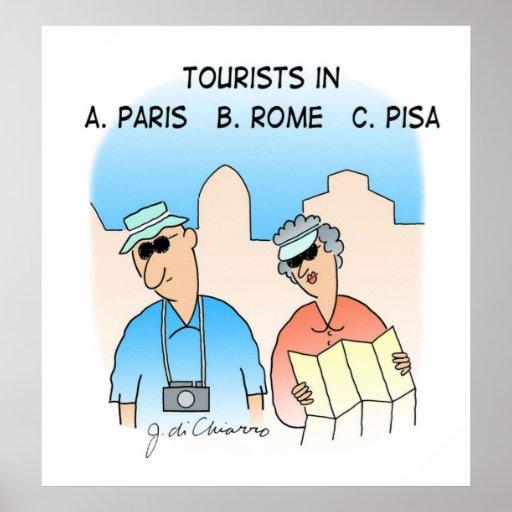 Tourists Print