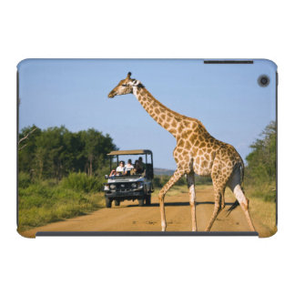Tourists Watching Giraffe iPad Mini Cover
