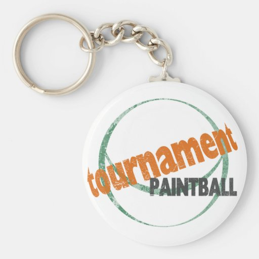 Tournament Paintball Key Chains
