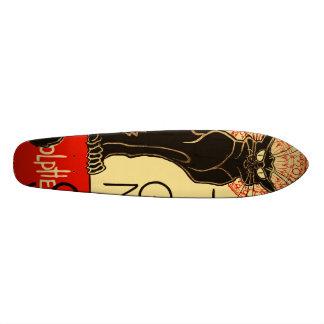 Tournée du Chat Noir Art Nouveau Skate Deck