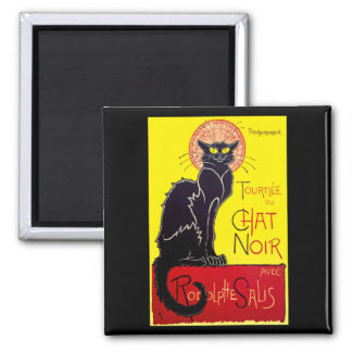 Tournee du Chat Noir Cabaret Gift Magnet