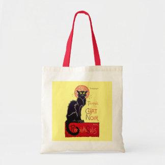 Tournee du Chat Noir French Art Nouveau Black Cat Tote Bag