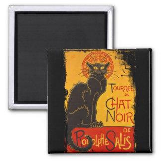 Tournee du Chat Noir Square Magnet