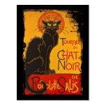 Tournee du Chat Noir Post Card