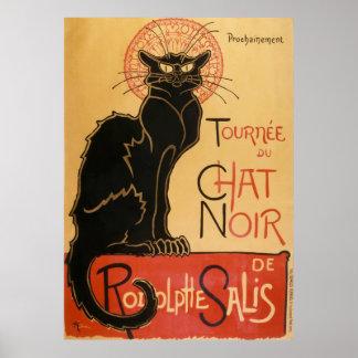 Tournee Du Chat Noir (the black cat) Poster