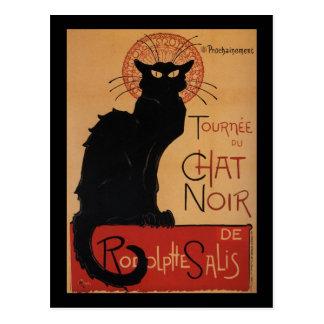 Tournée du Chat Noir, Théophile Steinlen Post Card