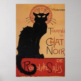Tournée du Chat Noir Théophile Steinlen Poster