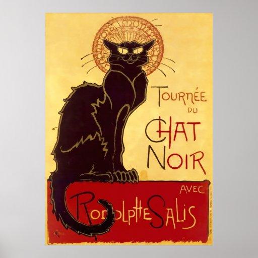 Tournée du Chat Noir, Théophile Steinlen Print