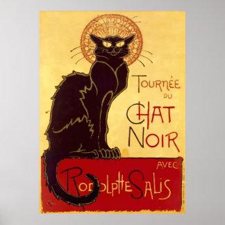 Tournée du Chat Noir Théophile Steinlen Print
