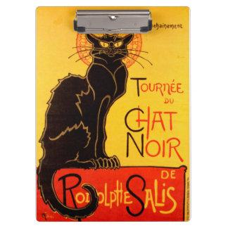 Tournée du Chat Noir - Vintage Poster Clipboard