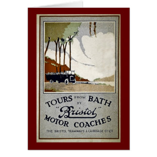 Tours from Bath by Bristol Card