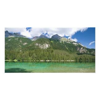 Tovel lake photo card template