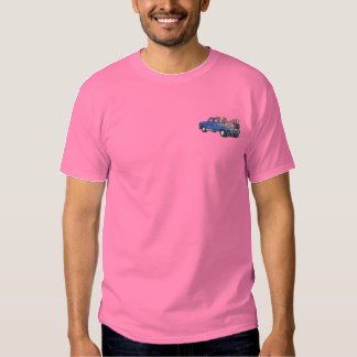 Tow Truck Embroidered T-Shirt