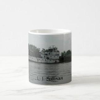 Towboat L.J. Sullivan Coffee Mug by Janz