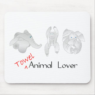 Towel Animal Lover Mouse Pads