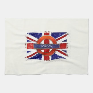 Towel table-ware cloth. England, Union Jack,