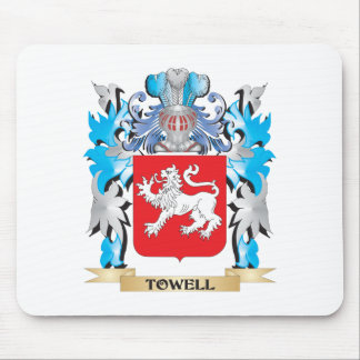 Towell Coat of Arms - Family Crest Mousepads