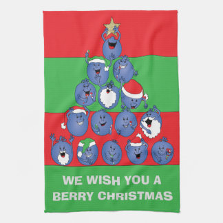 """Towels """"Berry Christmas"""""""