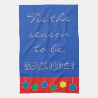 "Towels ""Christmas Baking"""