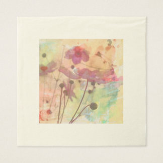 Towels flowers of spring disposable napkins