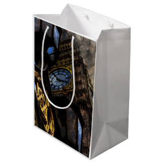 Tower Big Ben London Medium Gift Bag