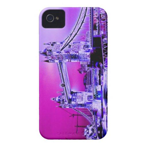 Tower Bridge art Blackberry Bold Cases