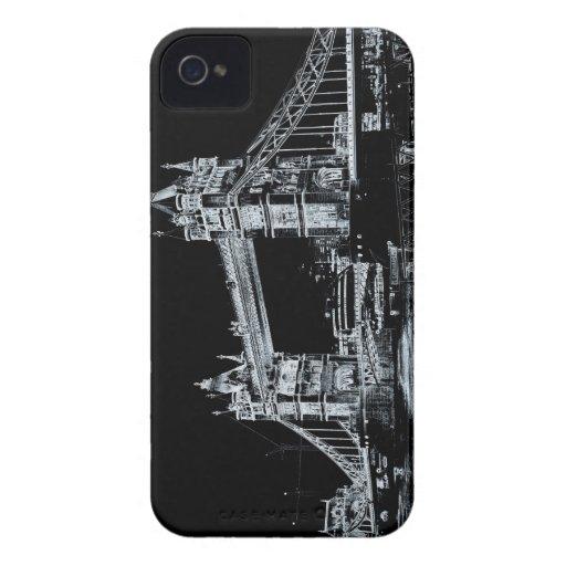 Tower Bridge art Blackberry Bold Cover