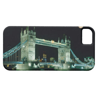 Tower Bridge at Night, London, England iPhone 5 Covers
