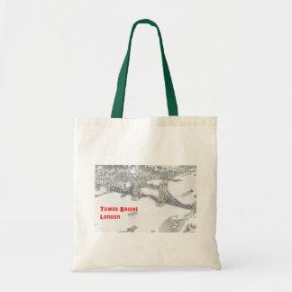 Tower Bridge Budget Tote Bag