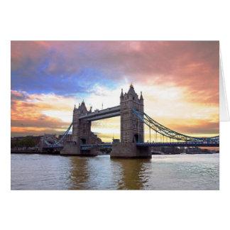 Tower Bridge Card