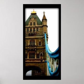Tower Bridge detail Poster