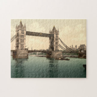 Tower Bridge II, London, England Jigsaw Puzzle