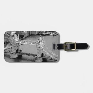 Tower Bridge in London Bag Tag